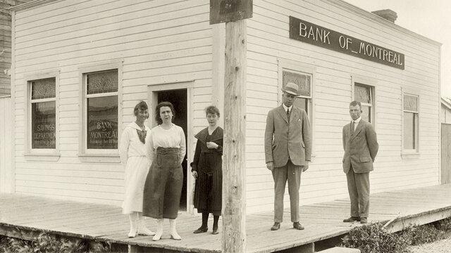 La premiere banque au Bas-Canada