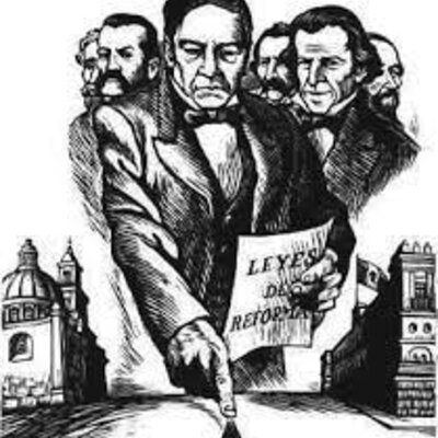 Benito Juárez y las Leyes de Reforma en el Impacto Social y Económico de México. timeline