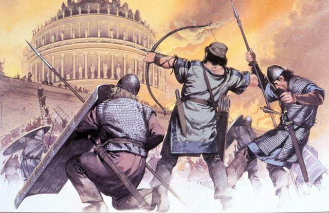 Invasiones barbaras. Fin del imperio romano