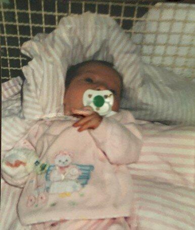 Nascimento da minha filha