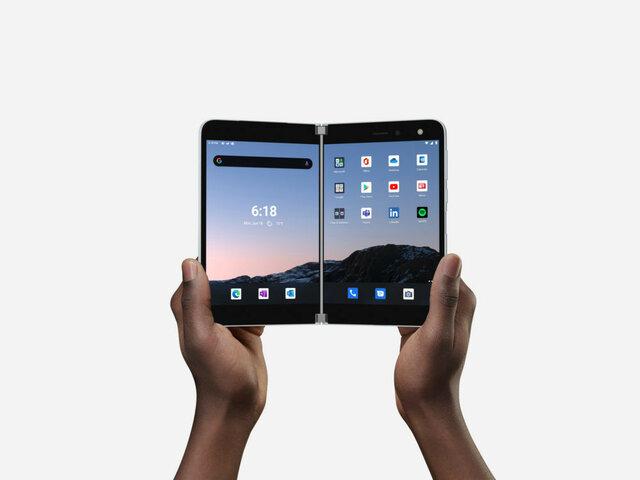 Teléfono doble pantalla