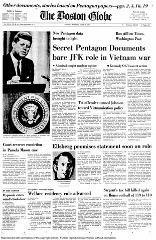 The Post: Pentagon Papers