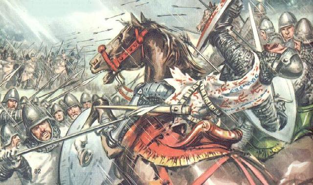 Comienzo de La Guerra de los Cien Años