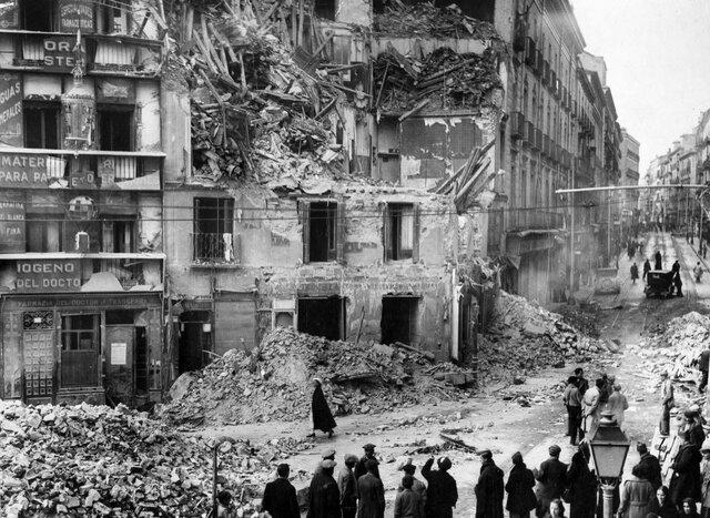 Bombardeo de Madrid.