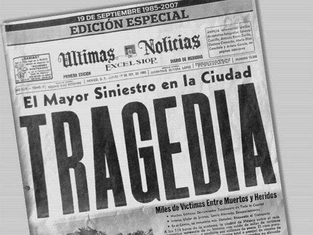 CRISIS FISCAL Y SISMO DEL 85'