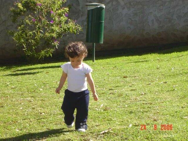 Aprendí a caminar