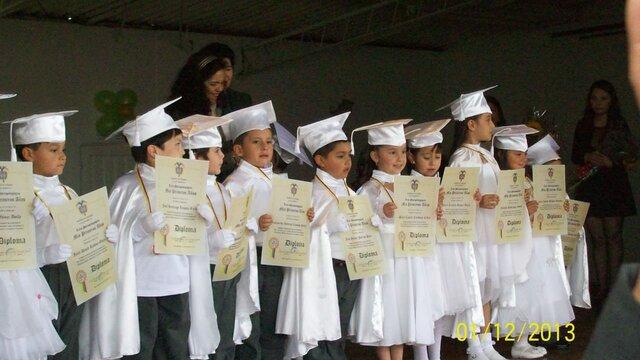 My preschool graduation