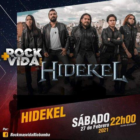 ROCK MÁS VIDA HIDEKEL