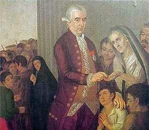 Fernando VII nombra Marquez a JF Aycinena