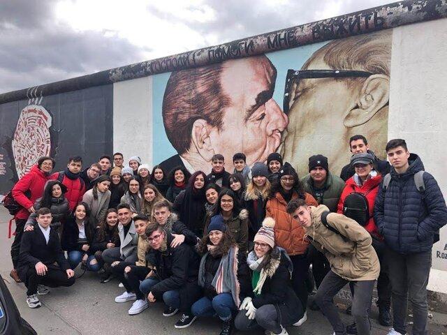 Los alumnos de 2º de Bachillerato visitan Berlín en su viaje de fin de estudios