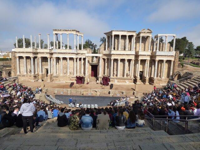 Celebración del Festival Europeo de Teatro Grecolatino de Mérida
