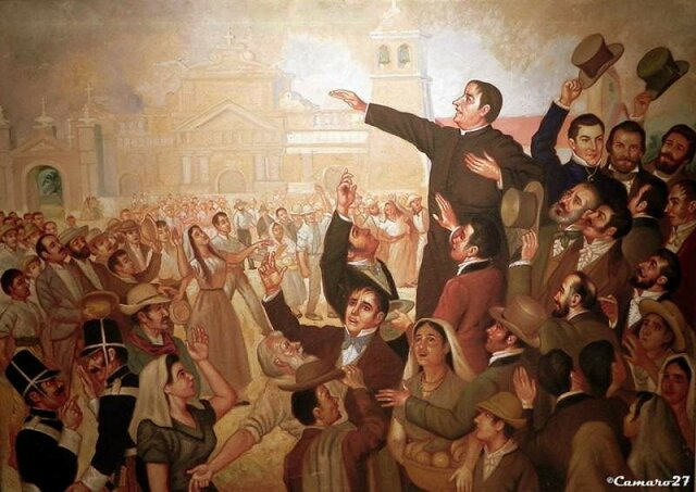Primer grito de independencia en centroamérica