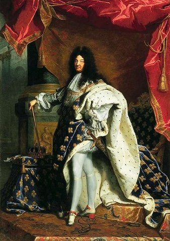 King Louis 14th had a lot of power