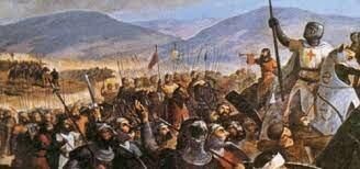 Colapso del reino de Jerusalén ante la fuerza musulmana