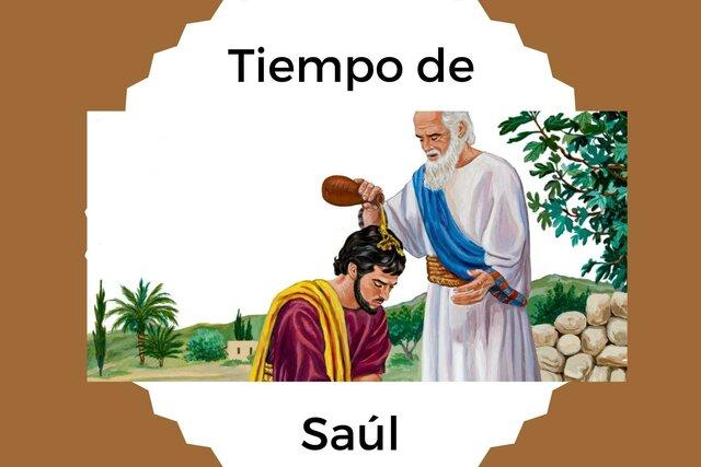 El primer Rey de Israel, Saúl