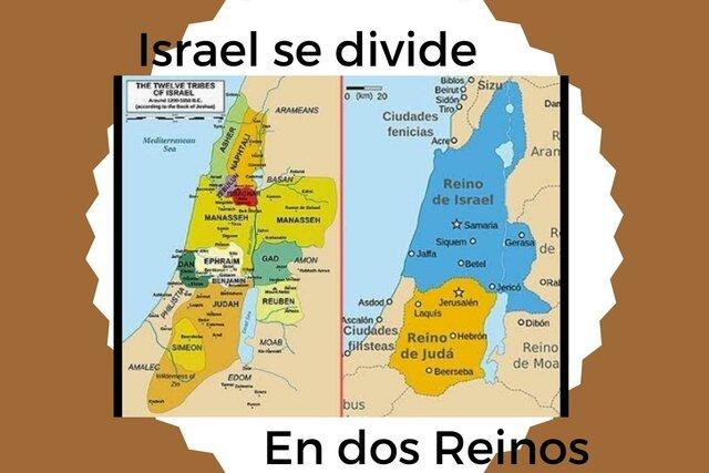 Israel dividido en 2