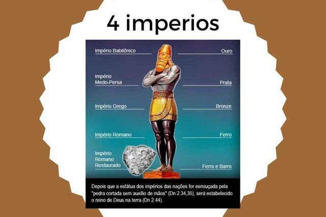 Los 4 imperios - Sueño de Nabucodonosor