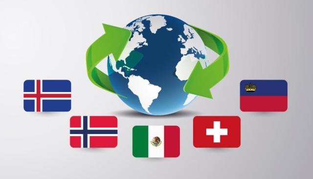 -Tratado de libre comercio México-AELC