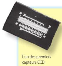 L'invention du capteur CCD