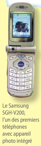 Les téléphones portables avec appareil photo
