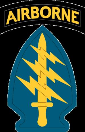 Fuerzas Especiales del Ejército de los Estados Unidos.