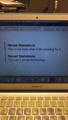 Nenad is an idiot.
