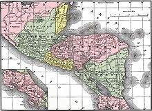 Se crea la Federación de Centroamérica
