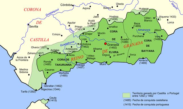 Capital del Reino Nazarí: Granada por Muhámmad I.