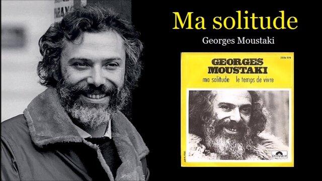 Ma solitude (Georges Moustaki)