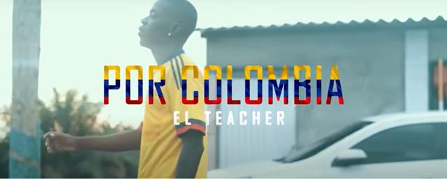 Por Colombia (El Teacher)