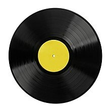 Phonograph disc record
