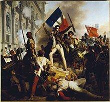 Une révolution éclate en France