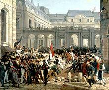 Les insurgés prennent Paris