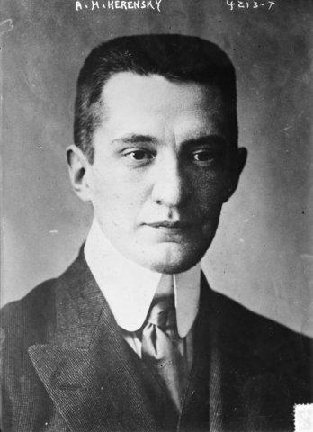 Kerensky becomes Prime Minister