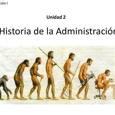 Evolucion de la Administracion  en sus diferentes etapas timeline
