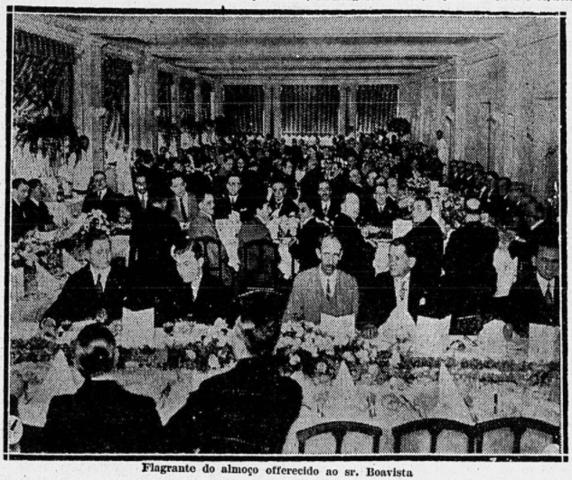 Banquete oferecido por admiradores ao presidente da Associação, Alberto Boavista, pelo seu retorno da Europa.