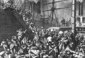 La vague de migration