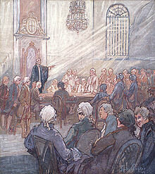 La division de la chambre d'assemblée