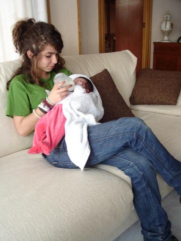 Nacimiento de mi hermana Berta