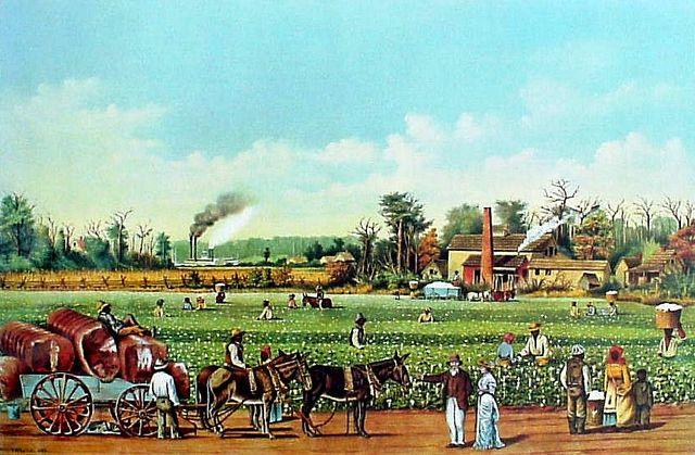 Dred Scott moves to Alabama cotton plantation