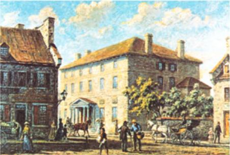 Première banque de la colonie