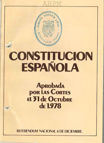 The new constitution was approved