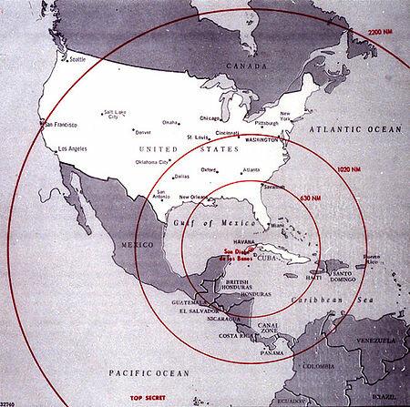 Crise dos mísiles en Cuba