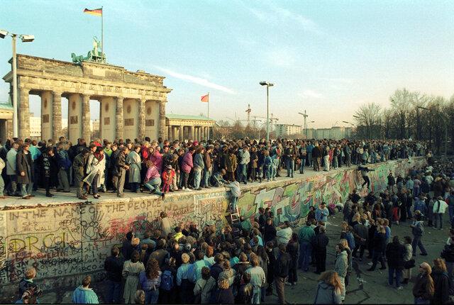 O Muro de Berlín