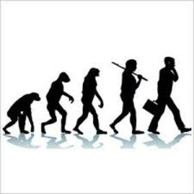 Evolución de la Administración. timeline