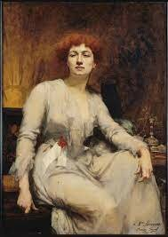 Portrait of Severine