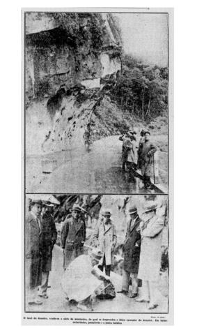 Maio de 1933: A Associação Bancária do Rio de Janeiro foi uma das instituições que mandaram telegramas de apoio ao presidente do governo provisório, Getúlio Vargas, após o acidente sofrido por ele e sua esposa na estrada Rio-Petrópolis;