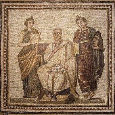 Cronología de la literatura romana timeline