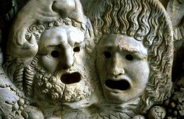 Trío tragedia griega