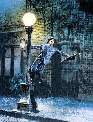 Cantant sota la pluja